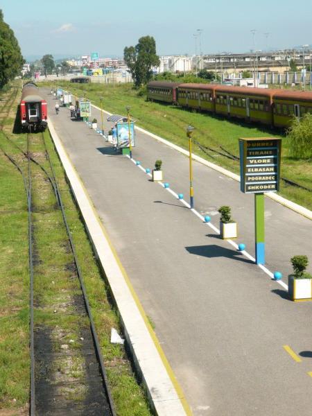Bahnhof von Durres