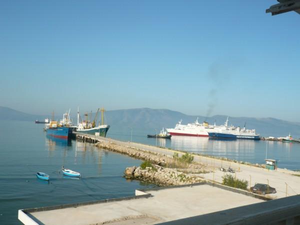 Hafen von Vlore